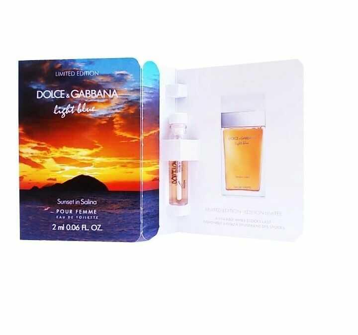 Dolce & Gabbana Light Blue Sunset in Salina 2ml woda toaletowa [W] PRÓBKA