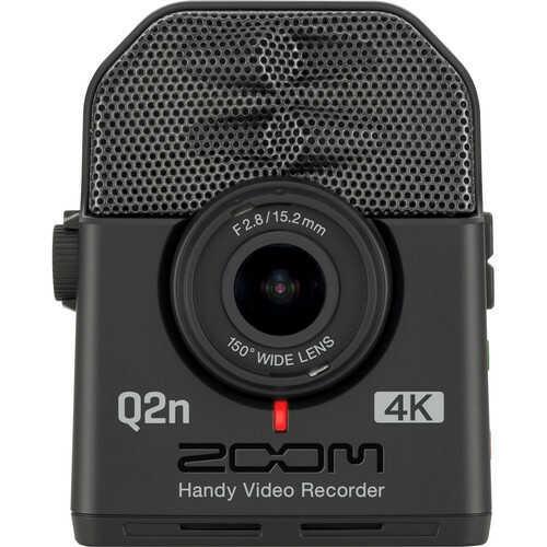 Zoom Q2n-4K - cyfrowy rejestrator audio z kamerą video 4K