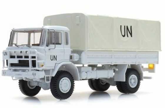 Ciężarówka DAF YA-4442 UN Gotowy Model H0 Artitec