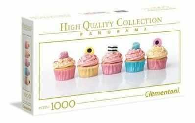Puzzle Clementoni 1000 - Lukrecjowe babeczki, Licorice Cupcakes