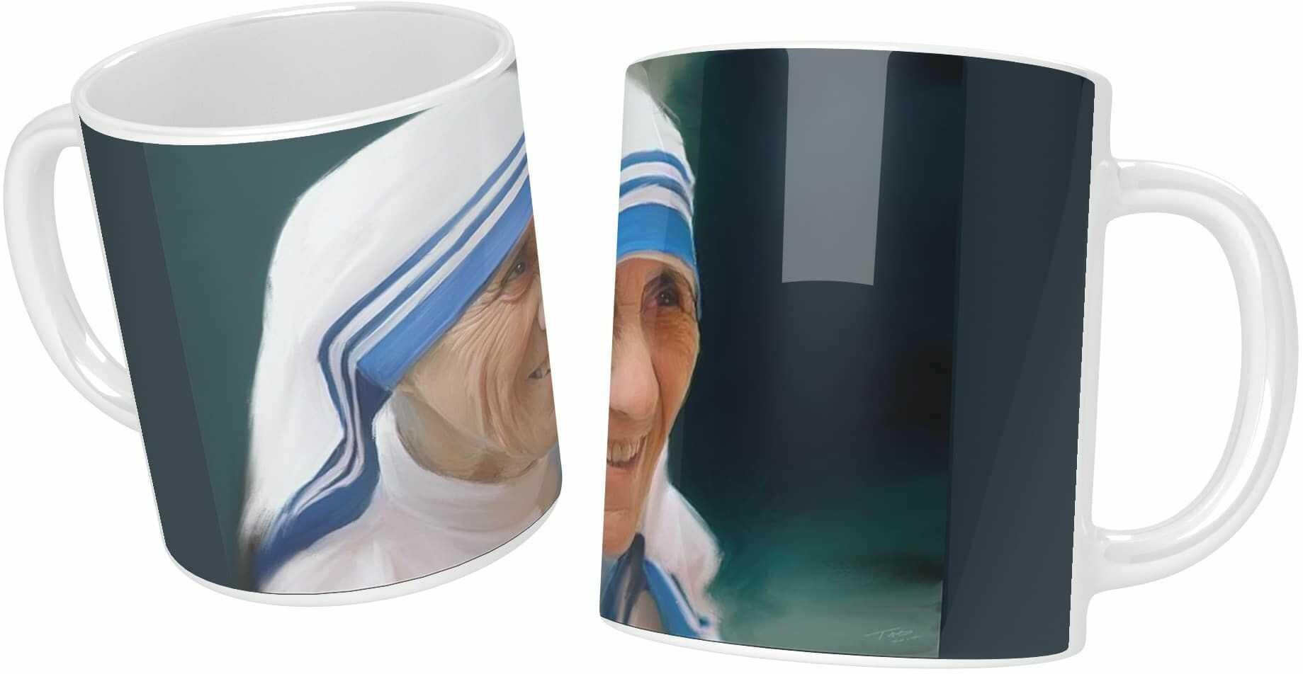 Kubek ceramiczny, Święta Matka Teresa