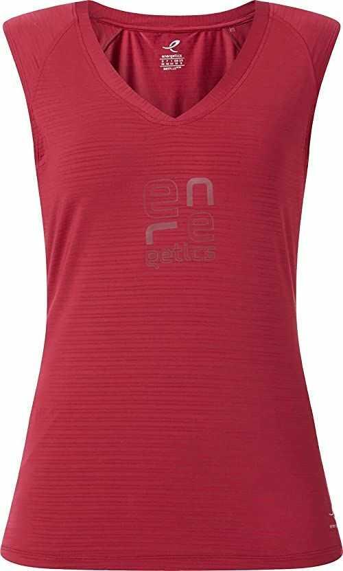 ENERGETICS Damska koszulka Tank Galia 2 czerwony czerwone wino 40
