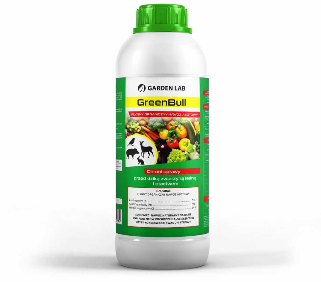 GreenBull środek odstraszający dziki i zwierzynę leśną w płynie 1L.