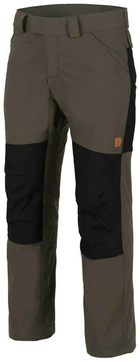 Spodnie Helikon Woodsman Taiga Green / Black (SP-WDN-DC-0901A) H