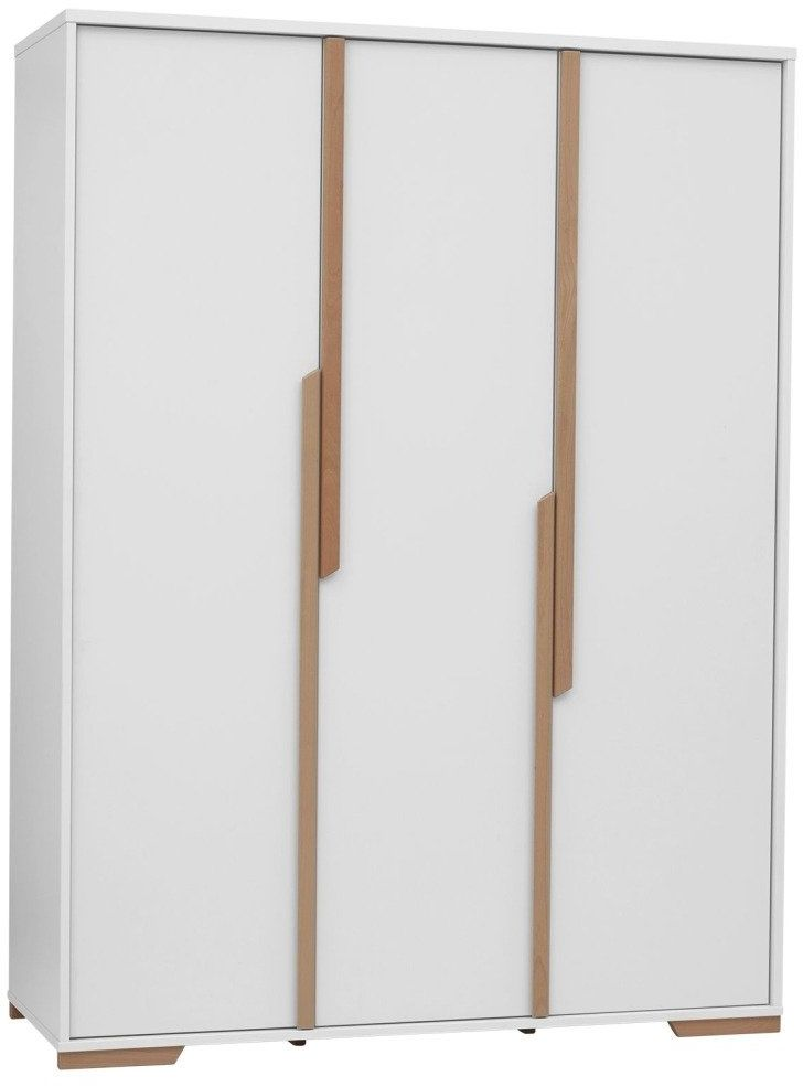 Biała Szafa 3 drzwiowa Pinio Snap