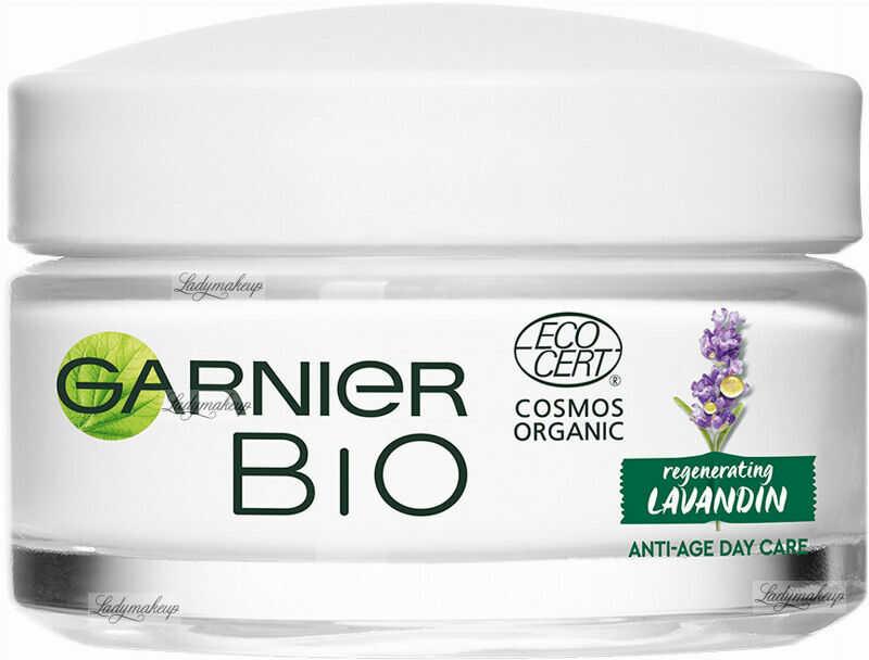GARNIER - BIO REGENERATING LAVANDIN - ANTI-AGE DAY CARE - Przeciwzmarszczkowy krem do twarzy- Dzień - 50 ml