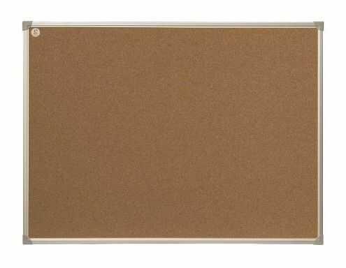 Tablica korkowa ecoBoards w ramie aluminiowej 120 x 80 cm