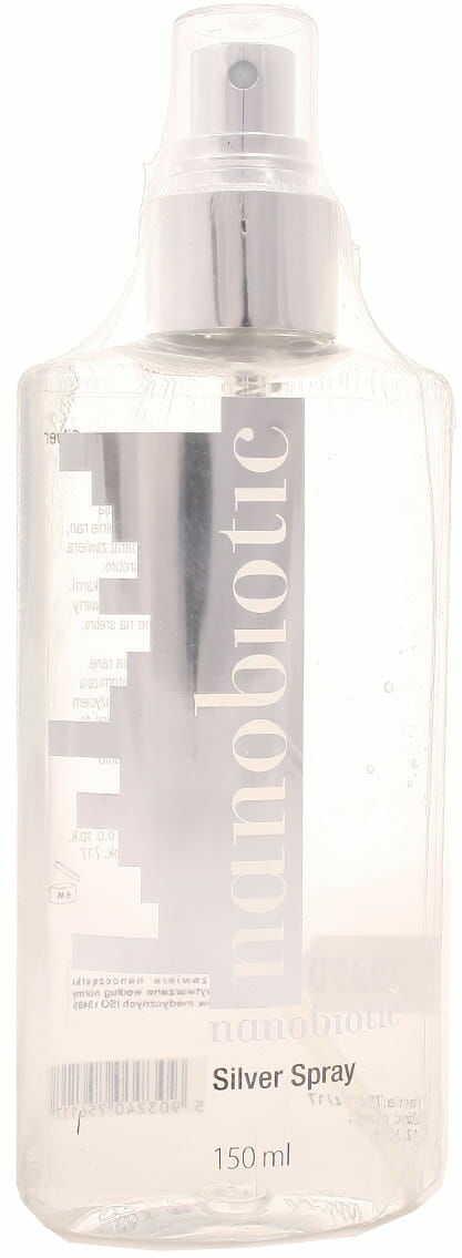 Nanobiotic silver spray - Nano-Tech - 150 ml