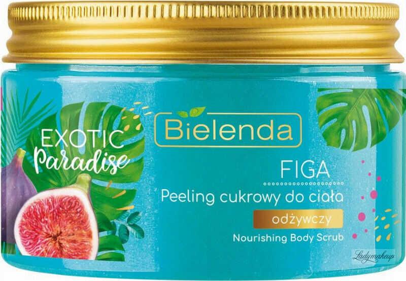 Bielenda - Exotic Paradise -Nourishing Body Scrub - Odżywczy peeling cukrowy do ciała - Figa