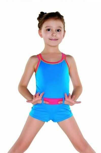 Shepa 071 kostium kąpielowy dziewczęcy (b4d17)