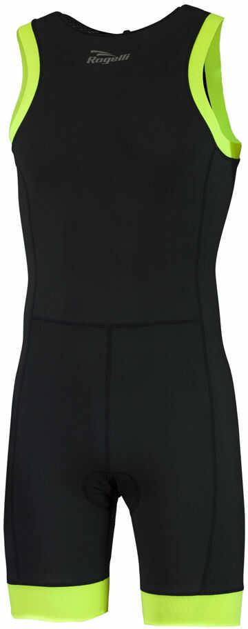 ROGELLI TAUPO 030.006 męski strój triathlonowy, czarno-fluorowy Rozmiar: S,ROGELLI TAUPO 030.006-black-fluo