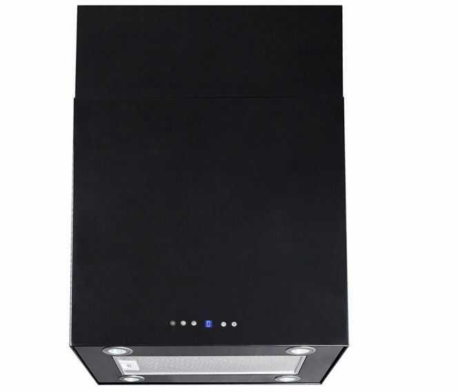 Okap kominowy Quadro Max OR Black 60 cm