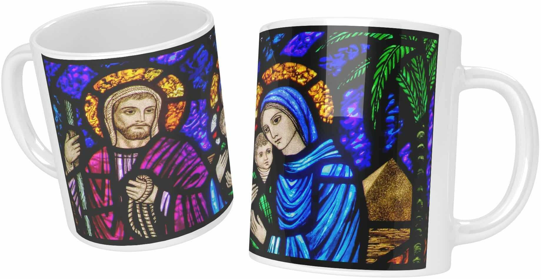 Kubek ceramiczny, Święta Rodzina