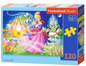 Puzzle Castor 120 - Kopciuszek, Cinderella