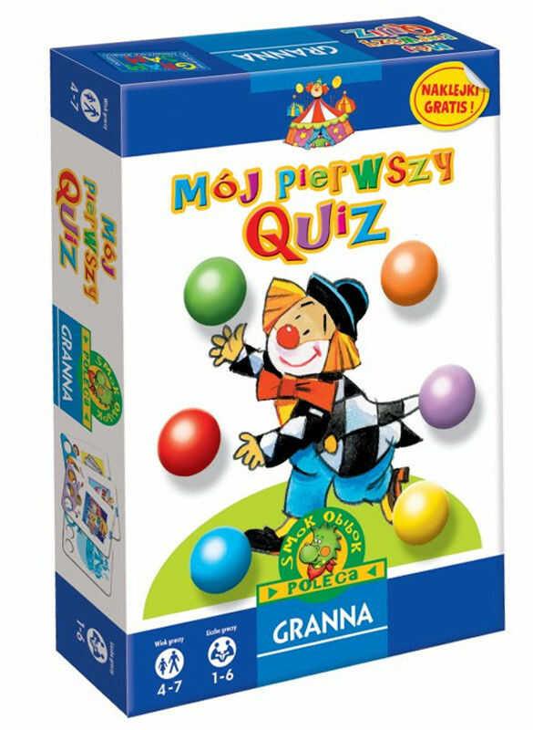 Granna - Mój pierwszy Quiz 0219