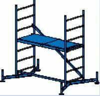 Rusztowanie robocze ClimTec 3m (Rusztowanie Podstawowe) 710116