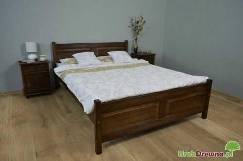 Łóżko drewniane bukowe Filonek II 120 x 200