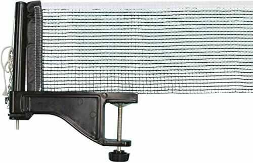 Donic-Schildkröt Friend sieć do tenisa stołowego, nylon, regulowana wysokość i napięcie, maksymalna grubość stołu 5 cm, w kartonie, 808313