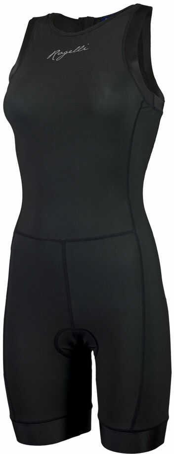 ROGELLI TAUPO 030.007 damski strój triathlonowy, czarny Rozmiar: XS,ROGELLI TAUPO 030-007-black