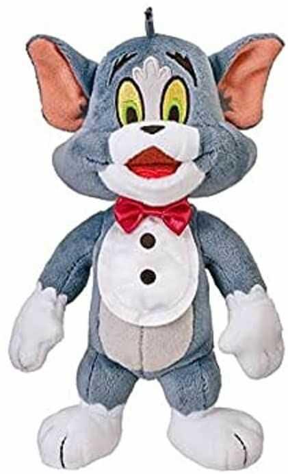 Tom & Jerry 14451 Jerry  Basic Plush Buddy: Tom (20 cm)