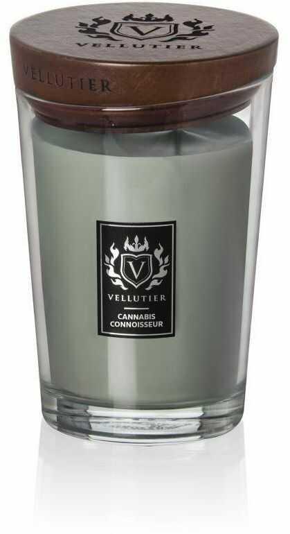 Świeca zapachowa Vellutier Cannabis Connoisseur