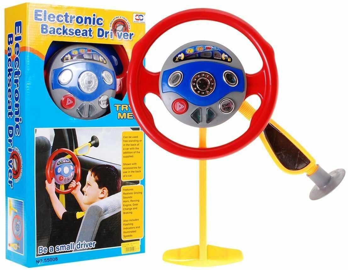 Wielofunkcyjna Kierownica Małego Kierowcy - Zabawka/Symulator  Moja Pierwsza Kierownica.