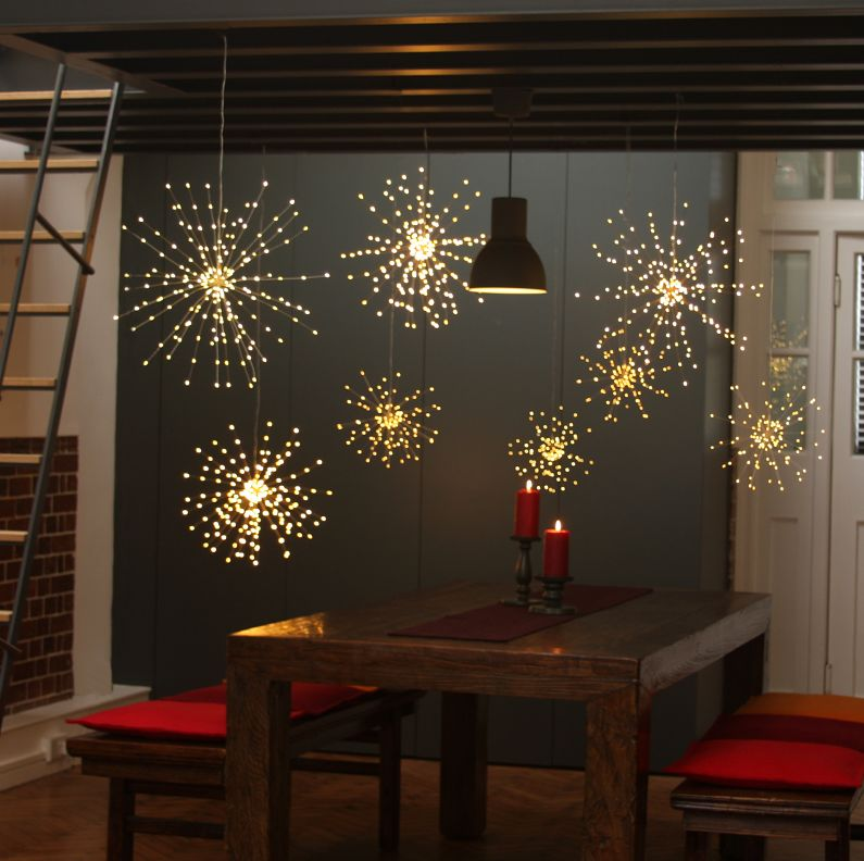 Dekoracja Świetlna Starburst