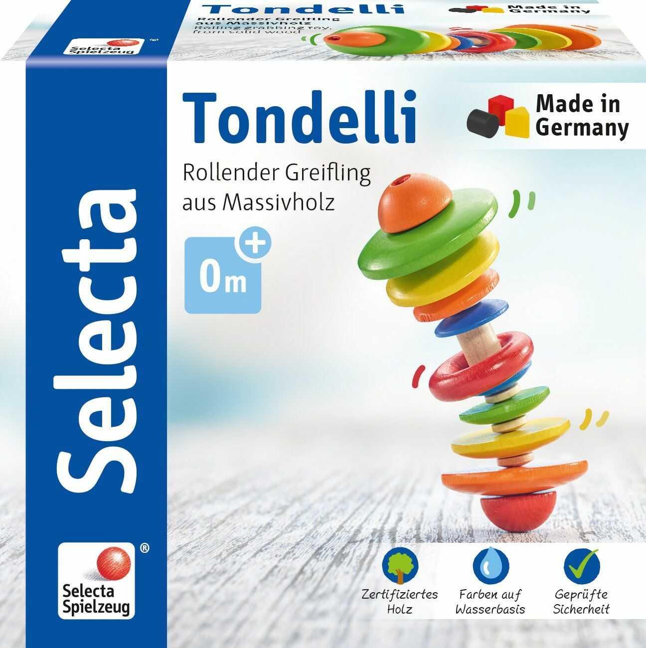 Selecta 61042 Tondelli, drewniany chwytak