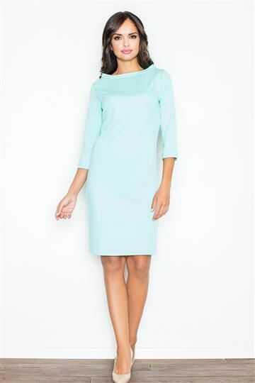 Sukienka Kordelia M181 mietowa