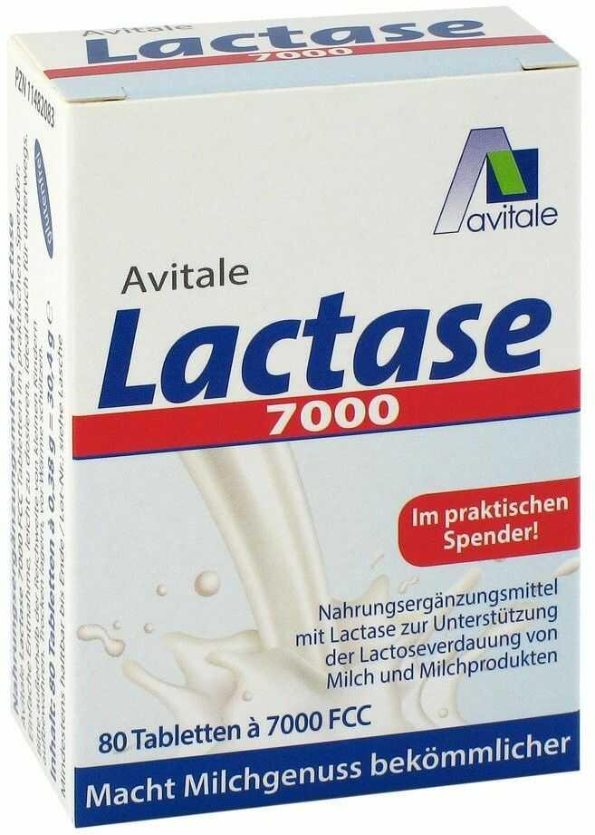 Lactase 7.000 FCC tabletki