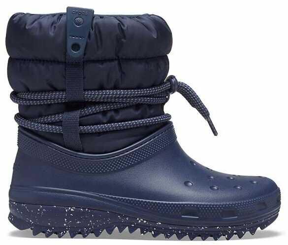 Śniegowce damskie CROCS CLASSIC NEO PUFF LUXE granatowe207312410