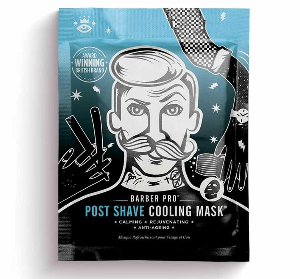 Barber Pro Post Shave Cooling Mask - chłodząca maska po goleniu