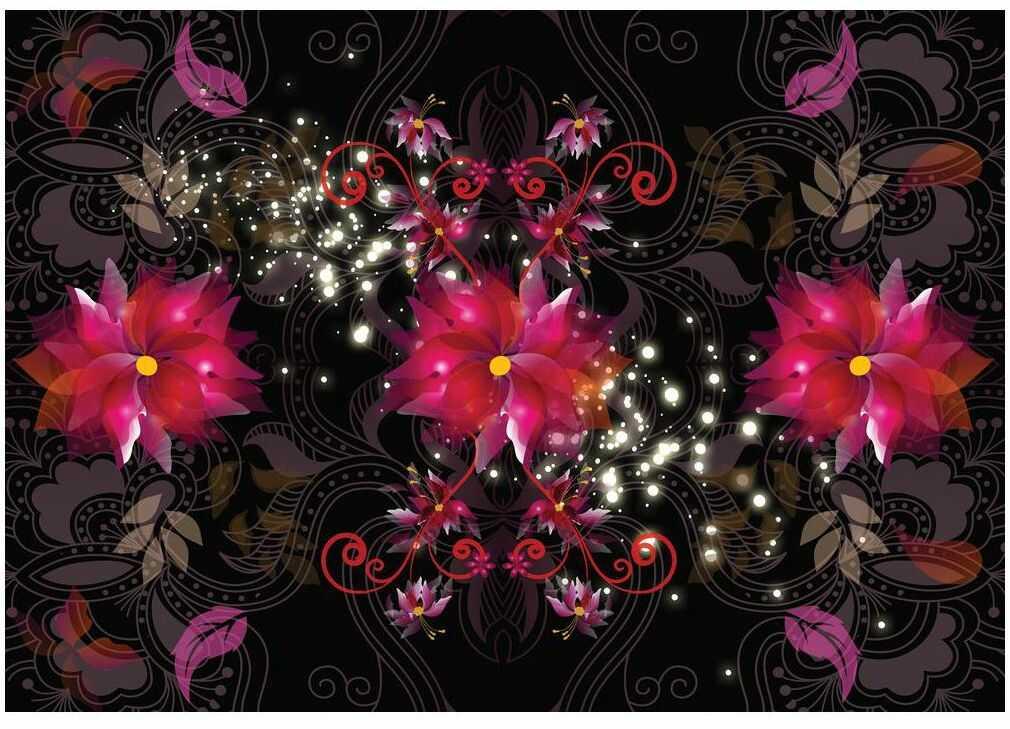 Fototapeta Kwiaty 312 x 219 cm