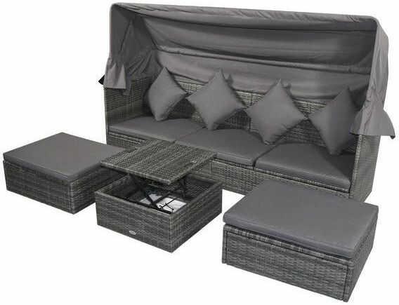 Meble ogrodowe + Sofa z dachem