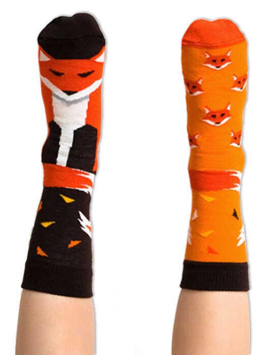 Skarpety kolorowe Nanushki Kids - FireFox Sox