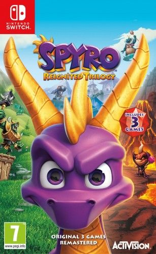 Spyro Reignited Trilogy NS