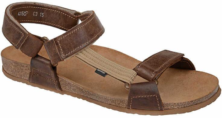 Sandały OTMĘT 415CP Brązowe NaturForm Fussbett Jezuski