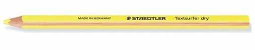 Zakreślacz w kredce Dry Staedtler 3395-ZK-ST 7109991, Kolor: Żółty