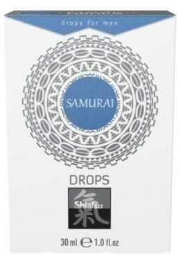 Supl.Diety-Shiatsu SAMURAI Drops for men 30ml.