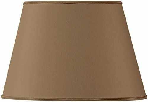 Klosz lampy owalny, Ø 20 x 13,5 x 8,5 x 13,5 cm, taupe