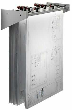 Uchwyt ścienny VISTAPLAN WA1/WCADA1 - na 500 arkuszy A1/CADA1 (Wall Carrier) (11104)