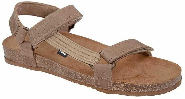 Sandały OTMĘT 405CP Beżowe Jezuski NaturForm Fussbett
