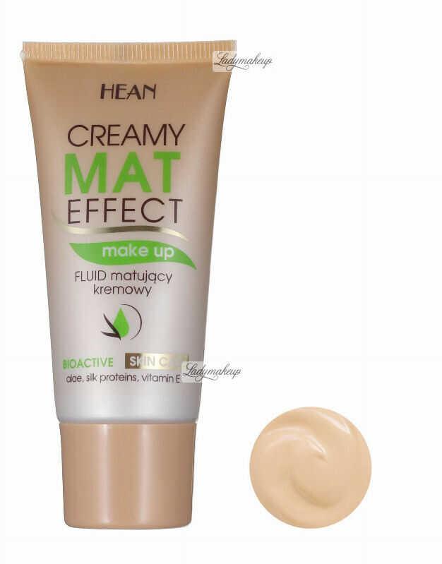 HEAN - Mat effect - Fluid matujący - NATURALNY