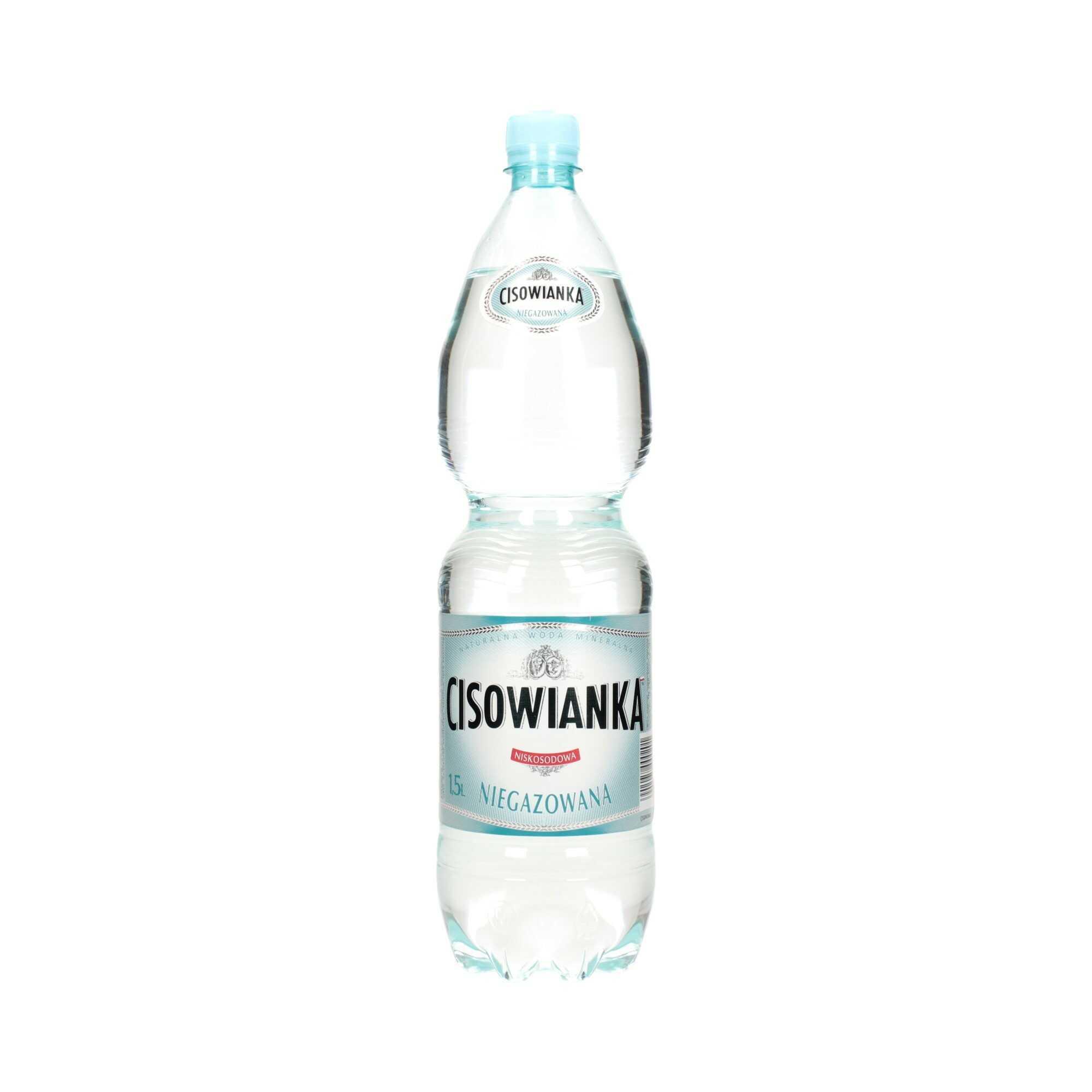 Woda mineralna 1.5l niegazowana Cisowianka