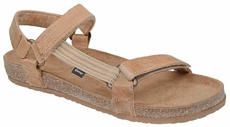 Sandały OTMĘT 405CP Beż-Brąz Jezuski NaturForm Fussbett