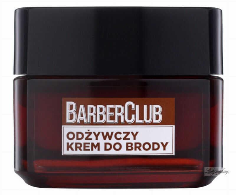 L''Oréal - MEN EXPERT - BARBER CLUB CREAM - Odżywczy krem do brody - 50 ml