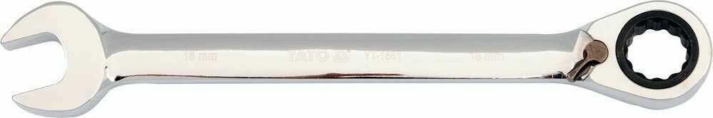 Klucz płasko-oczkowy z grzechotką 11 mm Yato YT-1654 - ZYSKAJ RABAT 30 ZŁ
