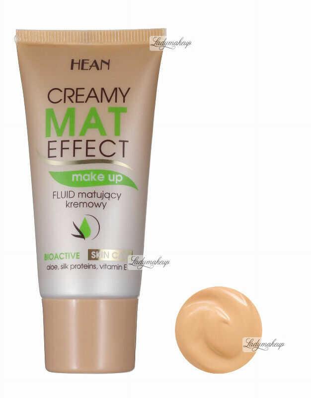 HEAN - Mat effect - Fluid matujący - BEŻOWY - CAPPUCINO
