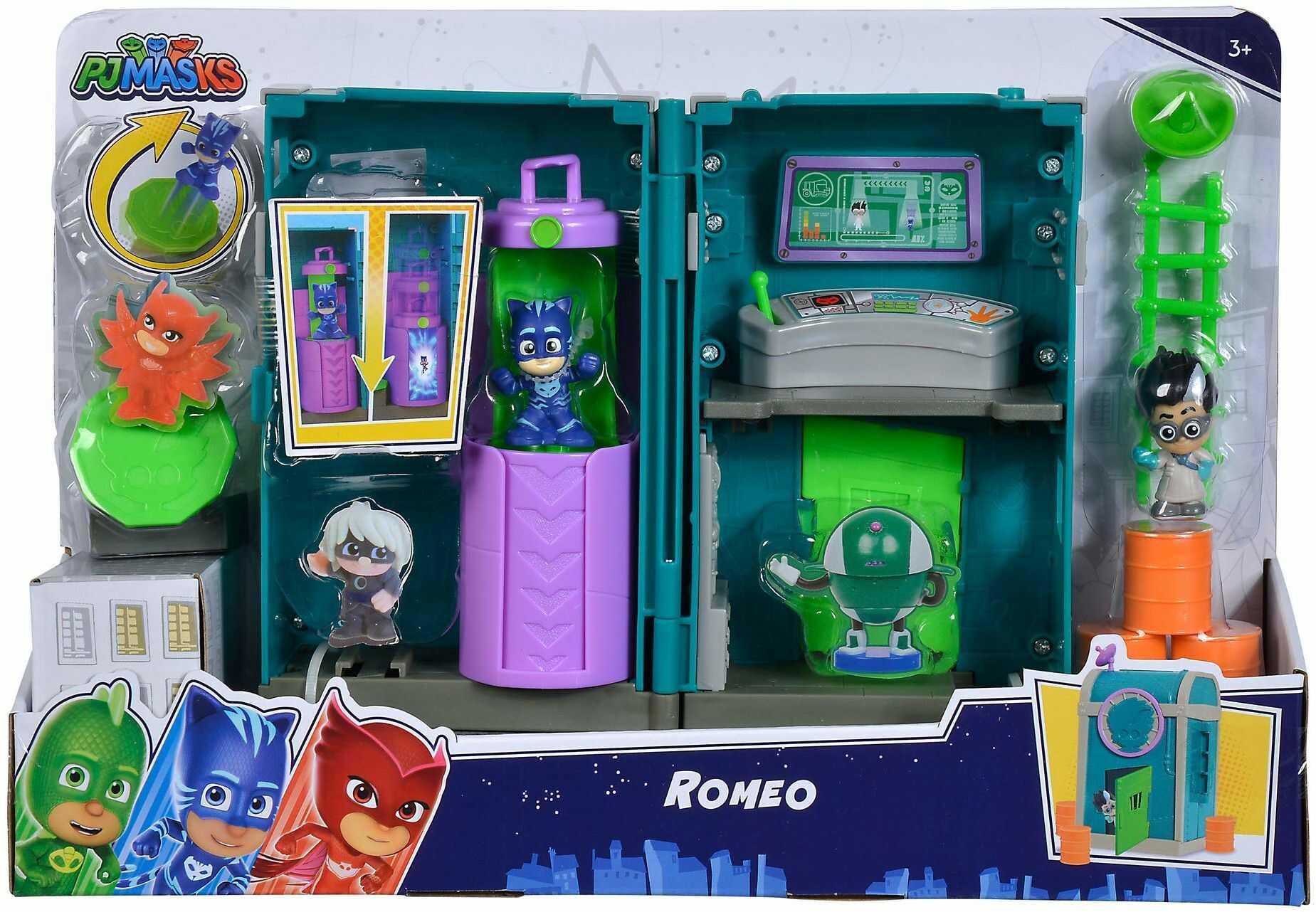 Simba 109402471 PJ Masks Mini Romeos Labor
