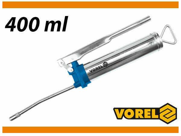 Smarownica ręczna 400ml ze sztywną końcówką Vorel 78046 - ZYSKAJ RABAT 30 ZŁ